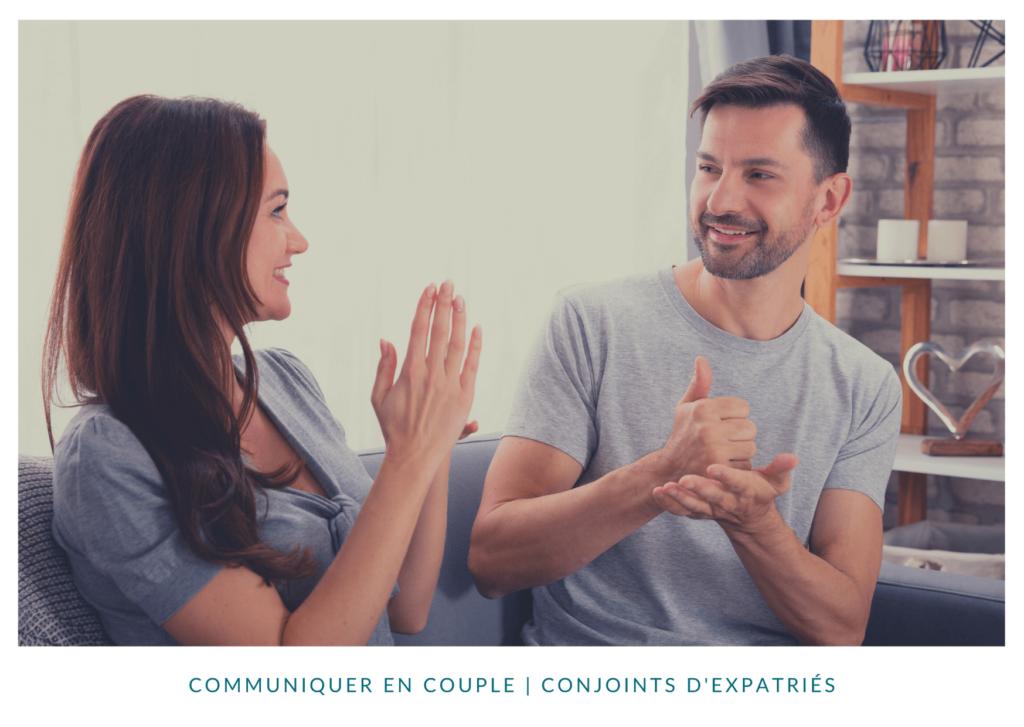 Communiquer en couple quand on s'expatrie