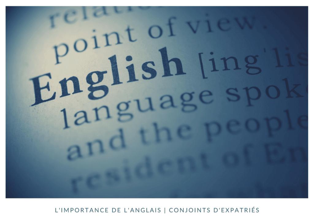 L'importance de parler anglais