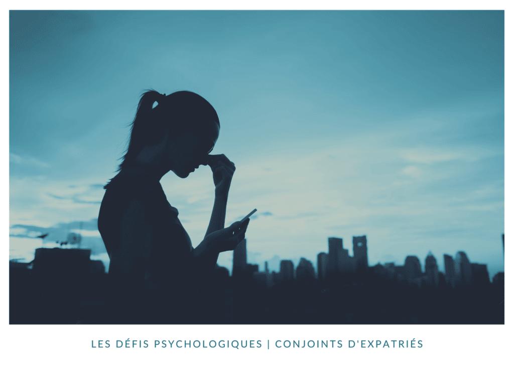 Les défis psychologiques en expatriation