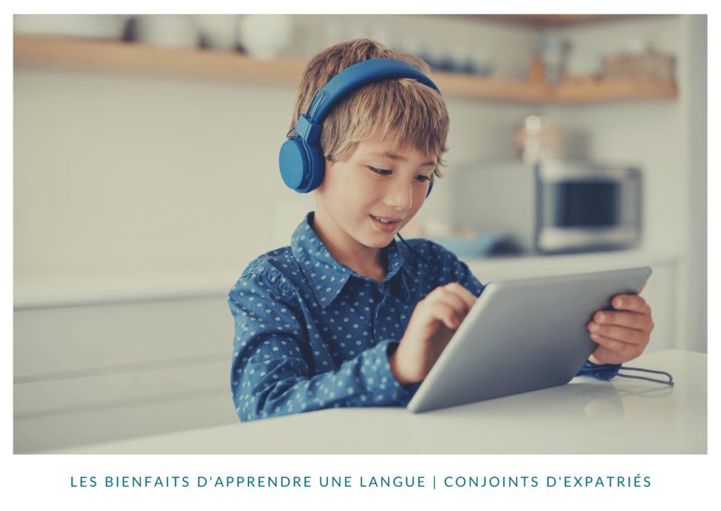 Les bienfaits d'apprendre une langue