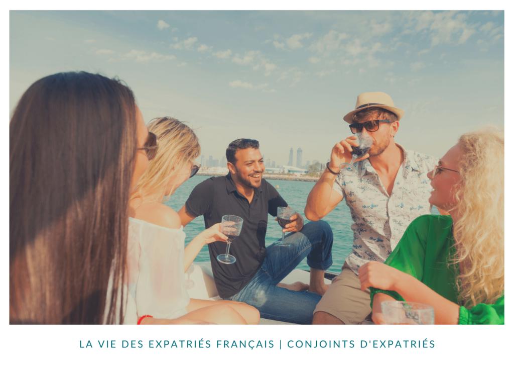 La vie des expatriés français